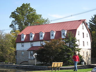 Boiling Springs, Pennsylvania - Historic grist mill in Boiling Springs