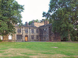 Bolling Hall, Bradford - The original front