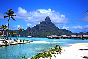 Another day in Bora Bora.