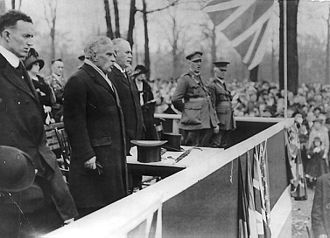 Robert Borden - Borden at a Victory Bonds campaign in Toronto, 1915