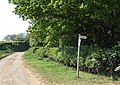 Boughton End Lane near A507 junction - geograph.org.uk - 422738.jpg