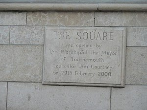 The Square, Bournemouth - Revamped in 2000