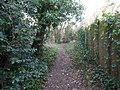 Bournemouth , Public Footpath - geograph.org.uk - 1704302.jpg
