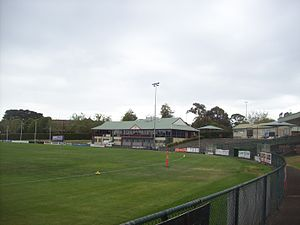 Box Hill City Oval in 2014