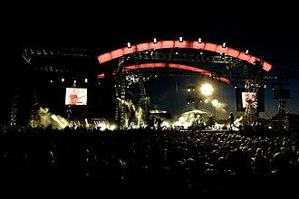 Brainstorm (Latvian band) - Image: Brainstorm on tour 2008
