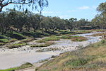 Brewarrina fish traps on the Barwon.JPG