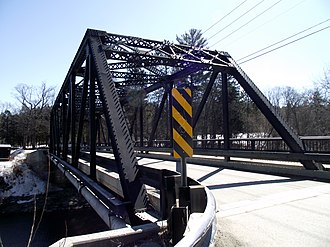 National Register of Historic Places listings in Lamoille County, Vermont - Image: Bridge No 6 Johnson Vermont
