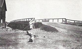 Webhannet River - Bridge over the Webhannet River in 1920