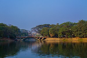 Canon EF-S 18–55mm lens - Dhanmondi Lake taken by Canon EF-S 18–55mm lens