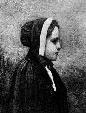 Bridget Bishop - Bishop, as depicted in a lithograph