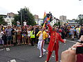 Brighton Gay Pride Parade 2013 Freddy Mercury And Beatle.jpg