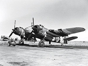 Bristol Beaufighter - Image: Bristol Type 156 Beaufighter Ex CC