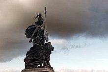 Plymouth, Regno Unito: personificazione della Britannia