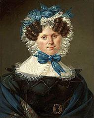 Portrait of Marianna Petiscus.