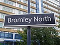 Bromley North stn signage.JPG