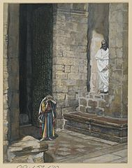 La femme adultère seule avec Jésus