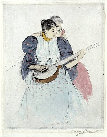Brooklyn Museum - The Banjo Lesson - Mary Cassatt