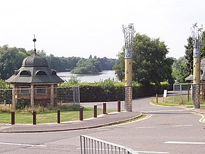 Brookvale Park - Brookvale Lake, south entrance – geograph.org.uk – 33540