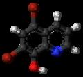 Broxyquinoline 3D ball.png