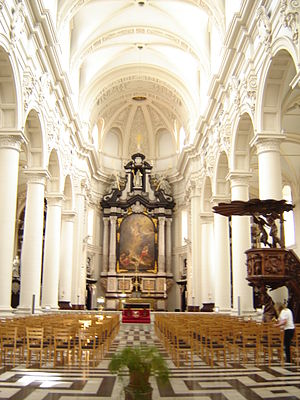 Saint Walpurga - The St. Walburga Church in Bruges was originally a Jesuit church