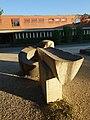 Brunnenanlage, 1966, Schulhaus Gehrenmatt in Arlesheim von Albert Schilling (1904–1987) Bildhauer (3).jpg