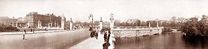 Buckingham Palace panorama, 1909