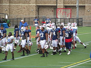 2012 Buffalo Bills season - Buffalo's defensive linemen at training camp in August 2012