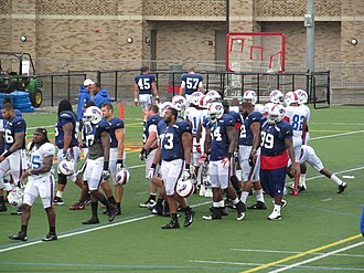 2012 Buffalo Bills season - Buffalo's defensive linemen at training camp in August 2012