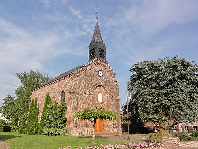 Buire (Aisne) église
