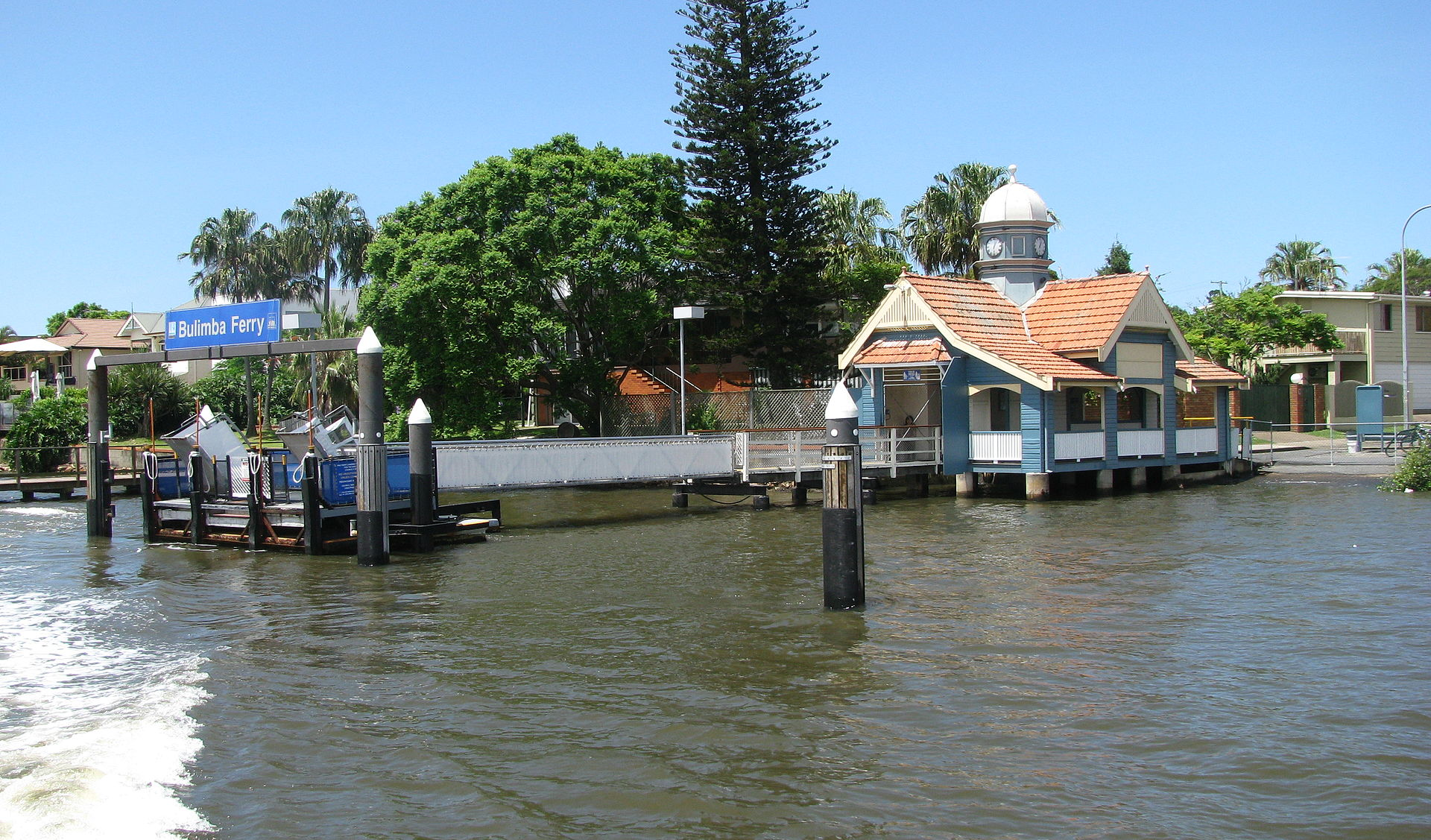 Servicing of several ferry routes across the Brisbane River