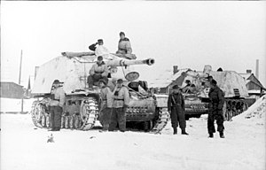 Nashorn - Nashorn tank destroyers on the Eastern Front, 1944