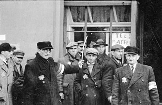 Jewish Ghetto Police - Jewish policemen in the Łódź Ghetto 1940