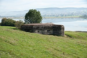 Fortified Sector of the Jura - Bunker on the Lac de Remoray