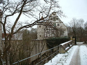 Amlishagen Castle - Central keep at Amlishagen Castle