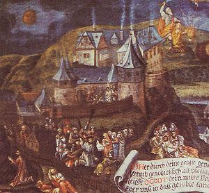 Bilstein Castle (Lennestadt) - Oldest illustration of Bilstein Castle, dating to 1561