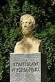 Bust of Stanisław Wyspiański in Łazienki Park.jpg