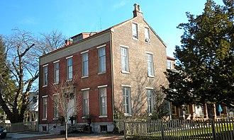 Butler House (West Chester, Pennsylvania) - Butler House, January 2010