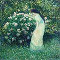 Butler Lili Butler in Claude Monets garden.jpg