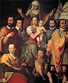 Butteri Virgen con Niño y Santa Ana con miembros de la familia Medici como santos 1575 Cenacolo di Andrea del Sarto Florencia.jpg