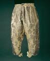 Byxor som tillhört Karl XIs brudgumsdräkt - Livrustkammaren - 13554.tif