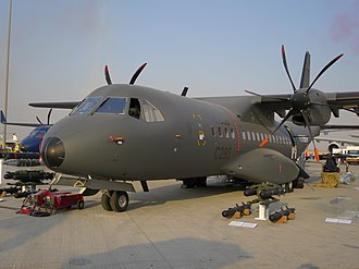 EADS CASA C-295 - C-295 Armed ISR variant at Dubai Air Show 2017
