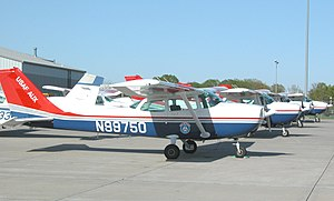 English: Civil Air Patrol 1985 Cessna 172P, wi...