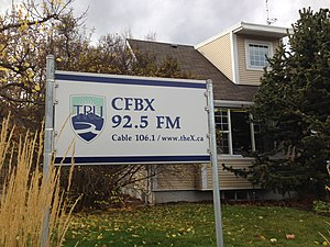 CFBX-FM - Home of Thompson Rivers University campus radio station CFBX