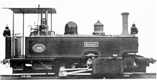 CGR Type C 0-4-0T class of 1 South African 0-4-0T locomotive