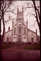 CHURCH IN MILLTOWN, NEW BRUNSWICK, ON THE CANADIAN SIDE OF THE ST. CROIX RIVER - NARA - 550376.tif