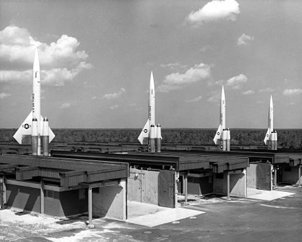 BOMARC surface-to-air missile battery - Kincheloe Air Force Base