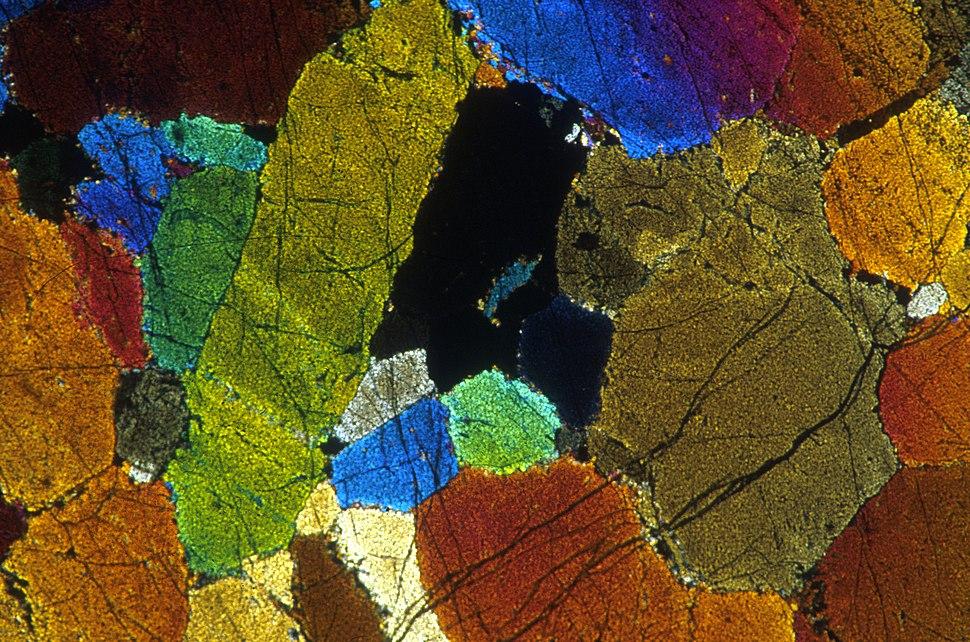CSIRO ScienceImage 1483 Olivine Adcumulate
