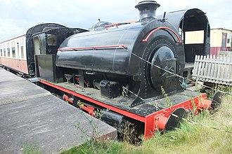 Colne Valley Railway - Image: CVR 0 6 0 Saddle Tank Engine 4