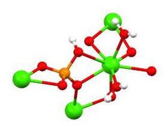 Dicalcium phosphate - Image: Ca HPO4(H2O)2portion