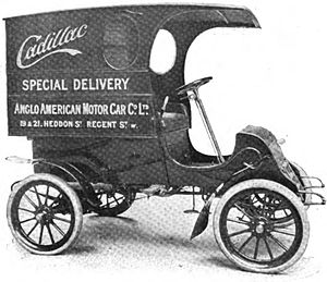 Cadillac Runabout and Tonneau - Delivery